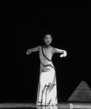 Restrained-Errand into the maze-Modern dance-choreographer Martha Graham. In December 19, 2014, Shi Feifei the dancer dance work session held in the South hall Stock Image