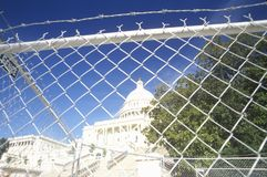 Restricted access to the Capitol Royalty Free Stock Photos