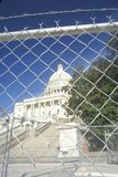 Restricted access to the Capitol Building post 9/11, Washington D.C. Royalty Free Stock Photos
