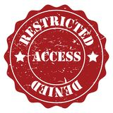 Restricted access Stock Photos