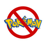 Restricted area for Pokemon Royalty Free Stock Image