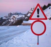Restrictieve verkeersteken stock foto