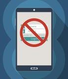 Restriction d'Access Photos libres de droits