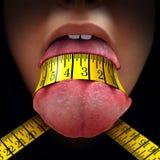 Restriction de calorie illustration stock