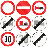 Restrictions in Austria Royalty Free Stock Photo