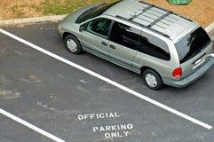 Restrictions de stationnement Images stock