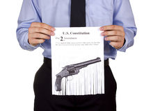 Restrictions on firearms Stock Photos