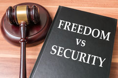 Restrictions on freedom and liberty vs national security concept