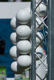 Restrictive buoys Stock Photo