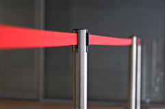Restrictive red tape Stock Photo