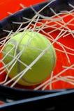 restring的网球 免版税库存图片