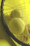 restring的网球 免版税图库摄影