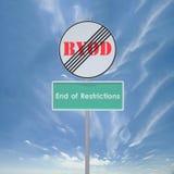 Restrizione di conclusione di BYOD Fotografia Stock Libera da Diritti