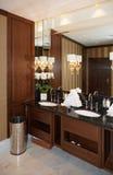 Restroom in hotel Stock Image