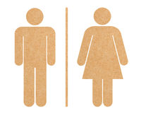 Restroom icon set isolated Royalty Free Stock Photography