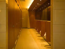 Restroom inside. Empty restroom inside for male Royalty Free Stock Image