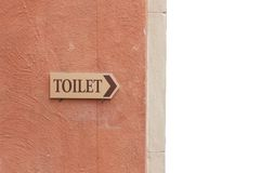 Restroom signs Royalty Free Stock Photos