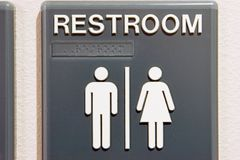 Restroom Unisex Royalty Free Stock Photo