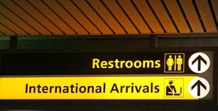 Restroom-Zeichen Lizenzfreie Stockfotografie