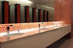 Restroominnenraum Lizenzfreie Stockbilder