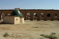 Rests of very old mosk in Ar-Raqqah (Rakka), Syria Stock Photos