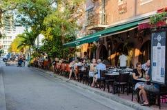 Resturant outdoors Zdjęcia Stock