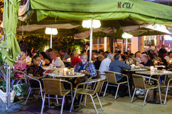 Resturant outdoors Stock Photography
