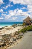 Resturant sulla spiaggia Fotografia Stock
