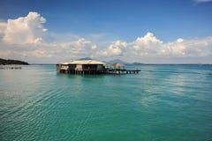 Resturant w morzu Obraz Stock