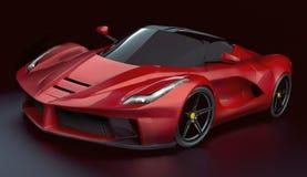 Restyled het LaFerrari supercar concept stock foto's