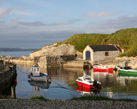 Resubmission - 74658970. Game of Thrones TV series Pike Island - Port Ballintoy Northern Ireland Stock Photo