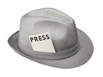 Resuelva la prensa Imágenes de archivo libres de regalías