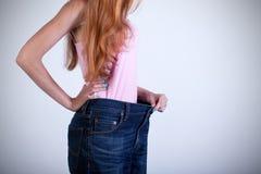 Resultaat van het dieet Stock Foto's
