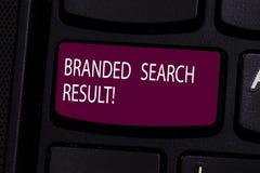 Resultado marcado texto da busca da escrita Pergunta do significado do conceito através de um Search Engine que inclua a chave de fotografia de stock