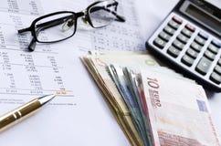 Resultados financieros Imágenes de archivo libres de regalías