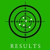 Resultaten Stock Foto