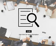 Results Analysis Discovery Investigation Concept. Results Analysis Discovery Investigation Information Royalty Free Stock Photography