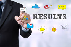 RESULTS  Concept Royalty Free Stock Images