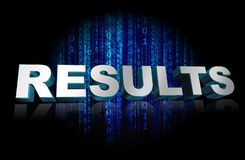 Results graphics Stock Photos
