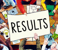 Results Effect Evaluation Productivity Concept Stock Image