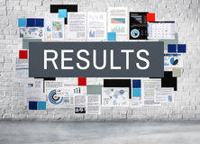 Results Efficiency Productivity Evaluate Progress Concept Stock Images
