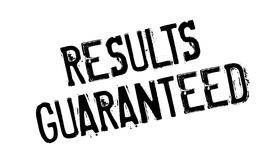 Results Guaranteed rubber stamp Royalty Free Stock Photos