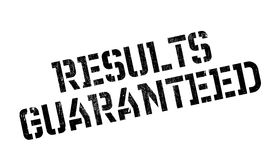 Results Guaranteed rubber stamp Stock Images