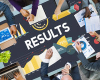 Results Percentage Business Chart Concept Royalty Free Stock Photography