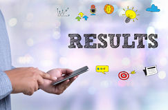 RESULTS Royalty Free Stock Photos