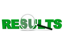 Results Word Shows Score Result Or Achievement Stock Photo