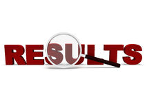 Results Word Shows Scores Result Or Achievements Royalty Free Stock Image