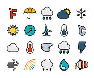 Resuma el diseño plano de los iconos ligeramente, línea moderna movimiento Imagen de archivo libre de regalías
