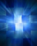 Resuma el fondo azul Foto de archivo libre de regalías