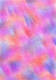 Resuma el fondo texturizado exhausto con pinceladas en colores rojos, rosados y azules Formato del tamaño A4 Imagen de archivo